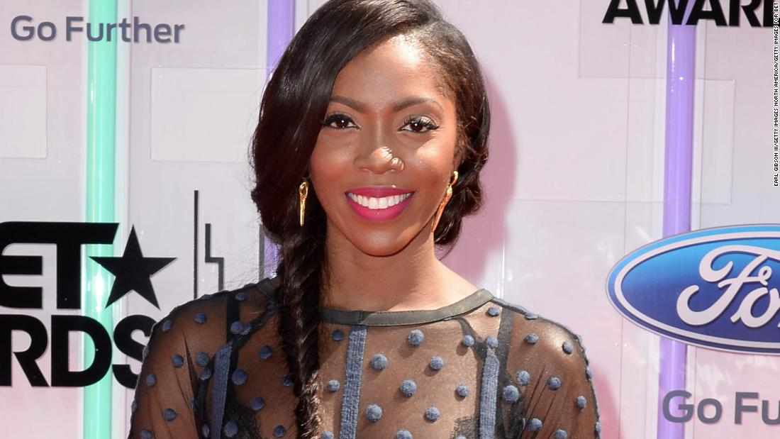 "Nigerian singer-songwriter Tiwa Savage once sang back-up for George Michael. She then participated in the UK version of the TV talent show, X-Factor, and went on to <a href=""http://officialtiwasavage.com/w/profile/"" target=""_blank"">release her own music</a>."