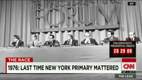 The last time N.Y. primary mattered this much