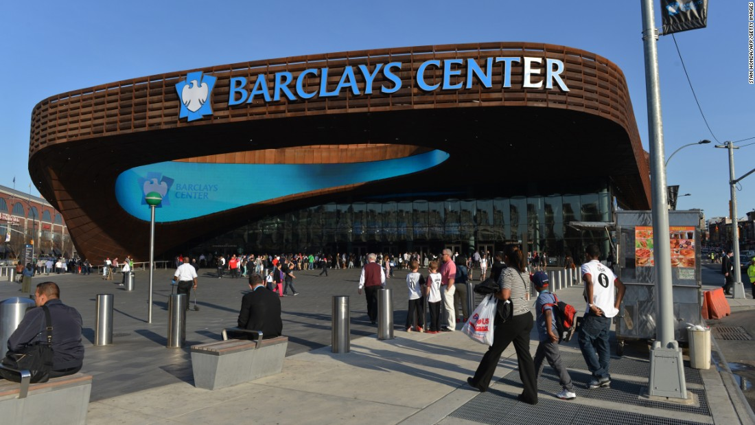 The Barclays Center, the home of the Brooklyn Nets, is a major new development in Brooklyn.