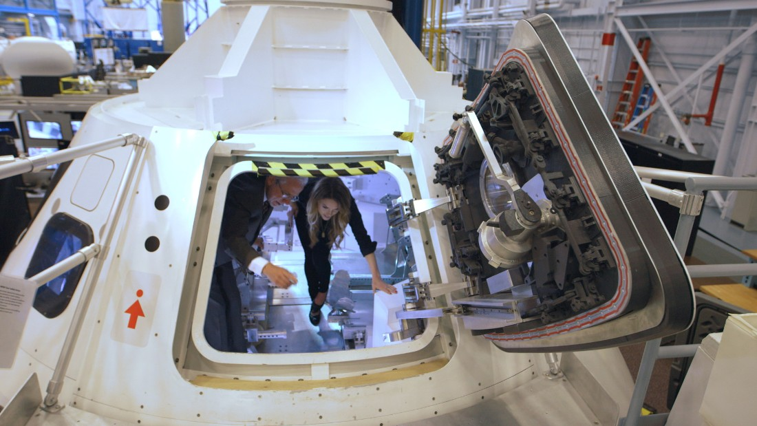 'Way Up There': Above the Earth and onward to Mars
