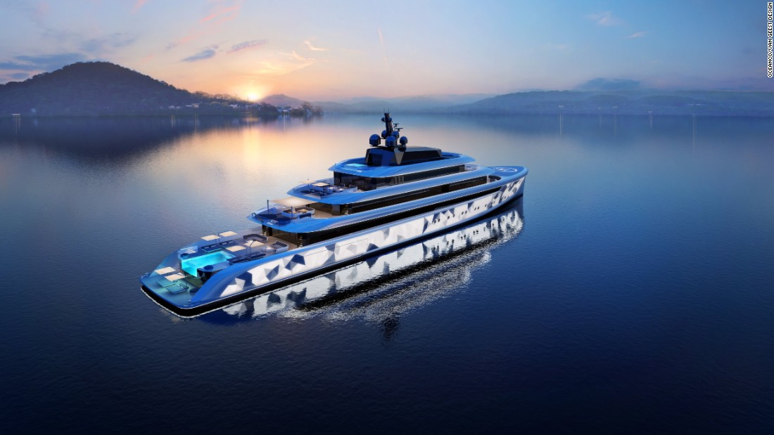 Do you want your superyacht to stand out at sea? Well, how about one which comes equipped with 600 flashing lights? Welcome aboard, Moonstone -- the peacock of the yachting world.