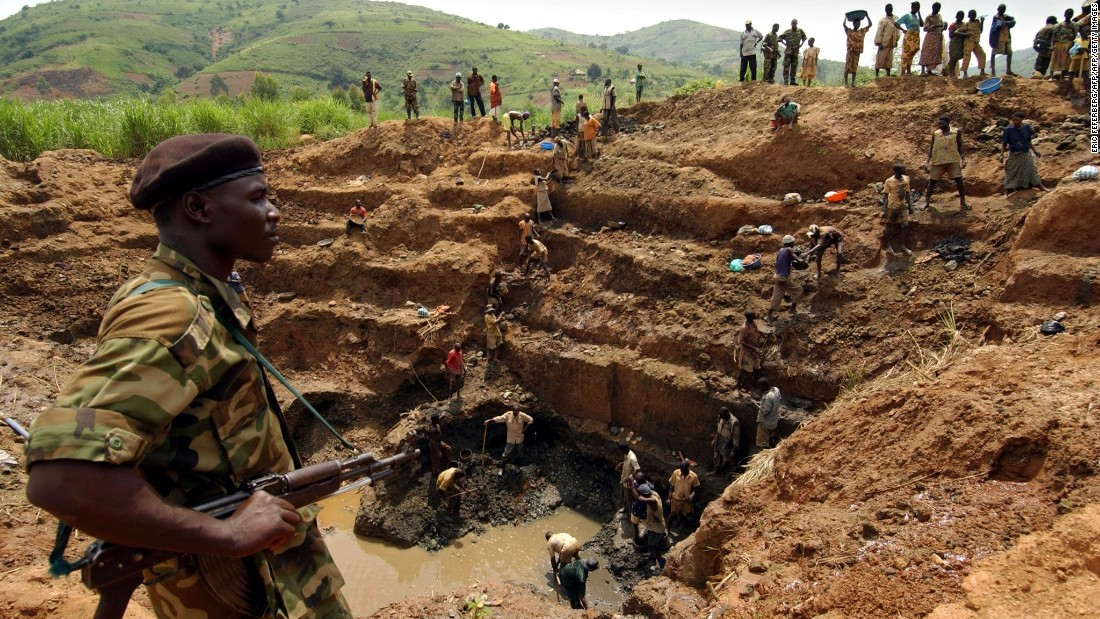 A gold mine in the Democratic Republic of Congo. The country holds natural resources worth trillions of dollars but the population is blighted with extreme poverty and violence. <br />In a new edition of his book 'The Looting Machine,' investigative journalist Tom Burgis explores why resource-rich states are failing their people.