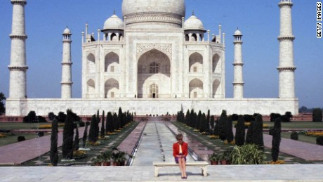 Princess Diana remembered at Taj Mahal