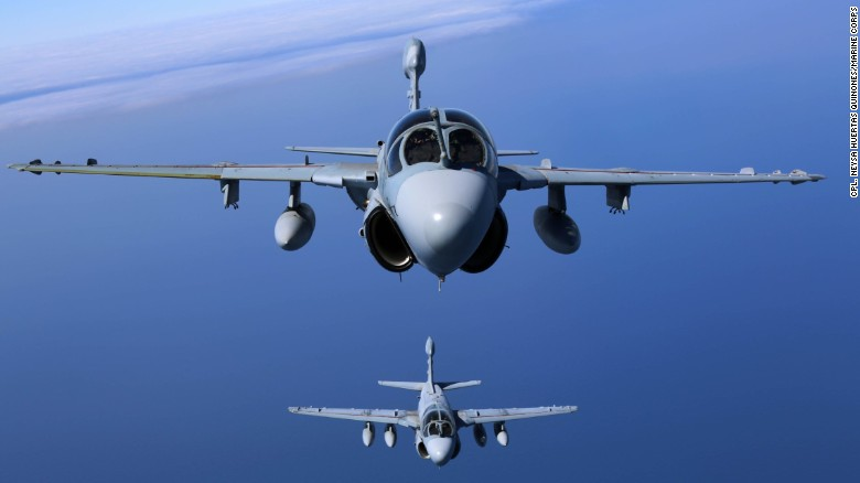 U.S. deploys Prowlers to fight ISIS