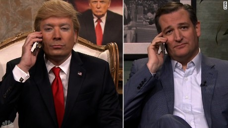 ted cruz gets call from trump fallon late night laughs