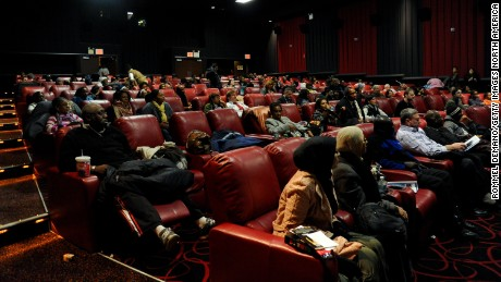 "A general view of the atmosphere at the screening of The Weinstein Companies' ""Mandela: A Long Walk To Freedom"" at AMC Theatre 84th Street, in New York City, on   November 25, 2013."