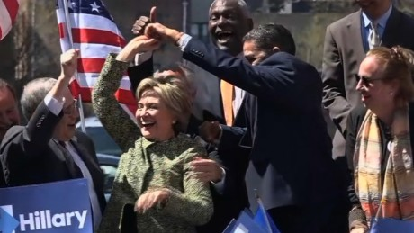 hillary clinton new york dancing latin music spin sot_00000628