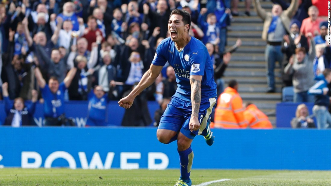 Ulloa salvaged a point for Leicester who need eight more in their final four matches to secure their first Premiership title.