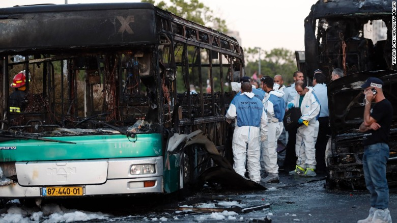 Police: Bus explosion 'no doubt' was an attack