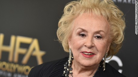 Doris Roberts arrives at the Hollywood Film Awards at the Beverly Hilton Hotel on Sunday, Nov. 1, 2015, in Beverly Hills, Calif. (Photo by Jordan Strauss/Invision/AP)