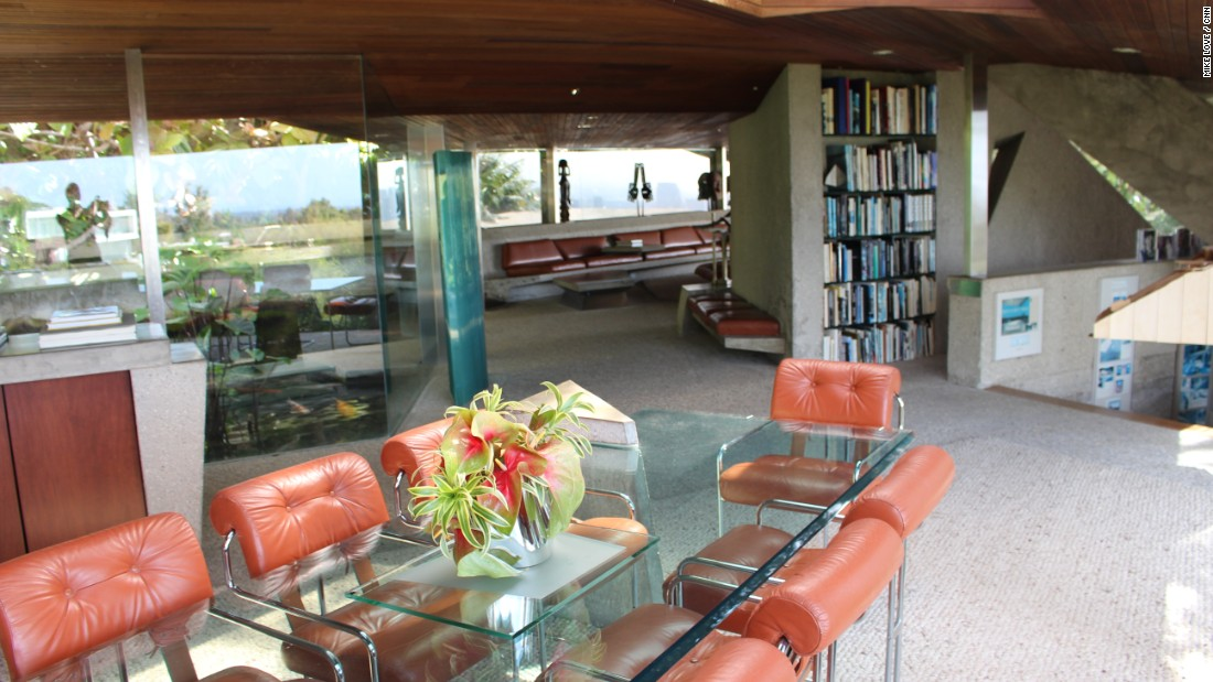 Architect Lautner designed all the furniture in the Sheats Goldstein Residence -- a rarity.