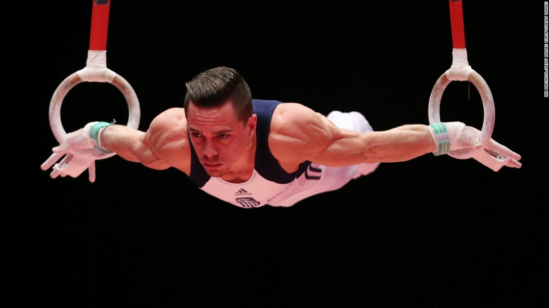 The gymnast, who is set to compete at his first Olympics, said he was so shocked to receive the news that he almost crashed his car.