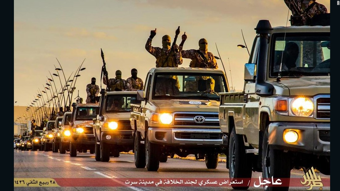 ISIS has executed almost 50 in Libya, Human Rights Watch says