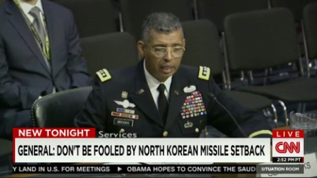 U.S. general's warning on North Korean leader