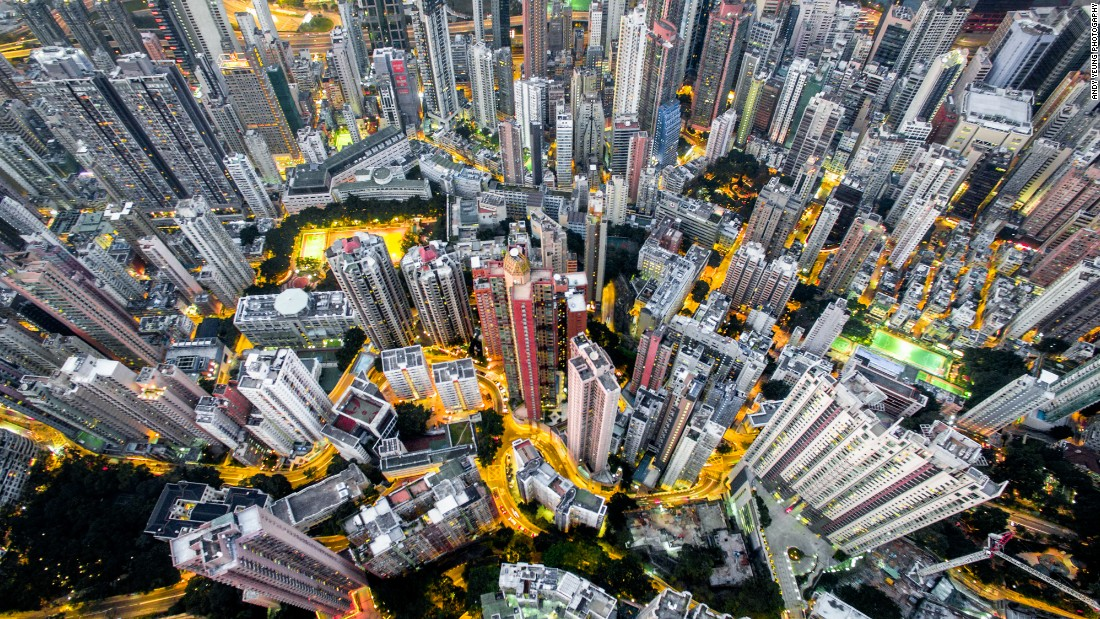 Stunning Aerial Photos Of Hong Kong Taken From A Drone CNN Travel - Incredible drone footage captures hong kong