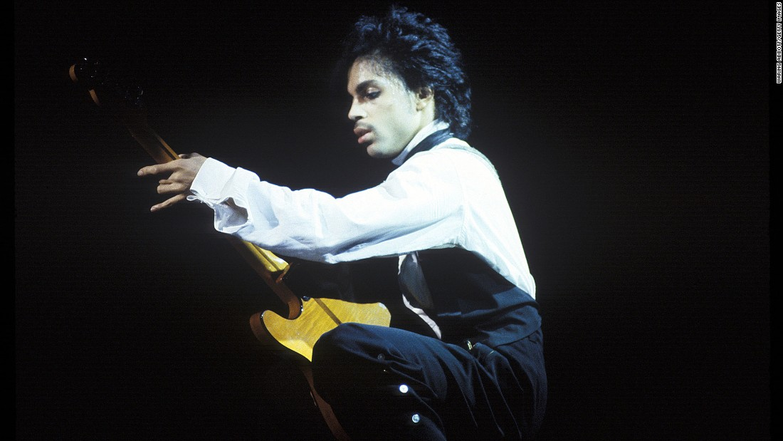 He performs at the Palladium in New York in 1981.