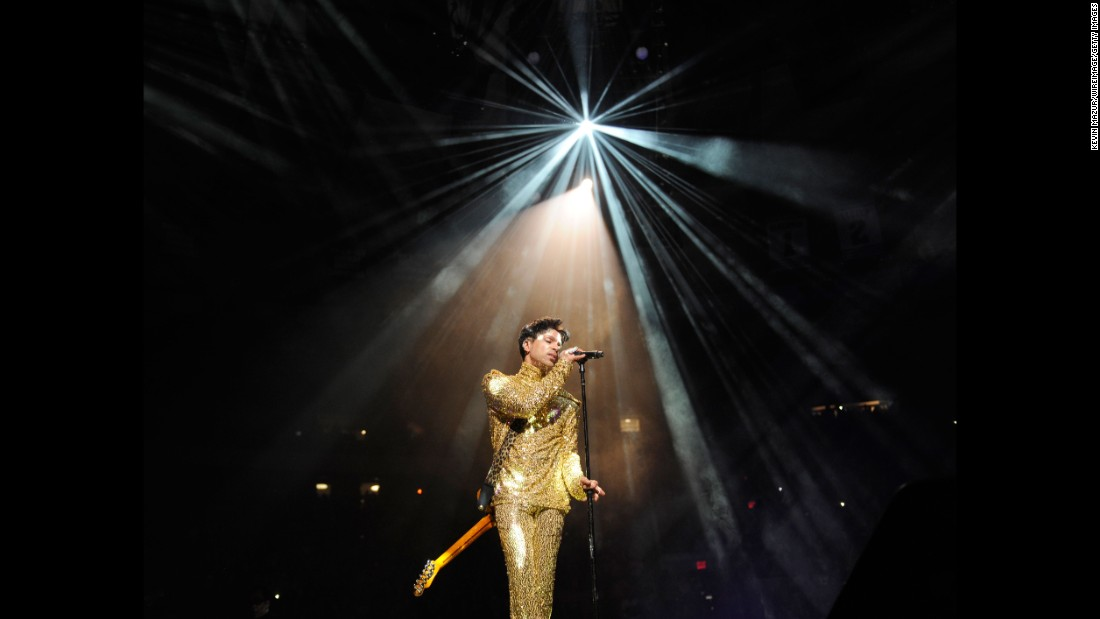 Prince performs during his Welcome 2 America tour at Madison Square Garden in 2011 in New York.