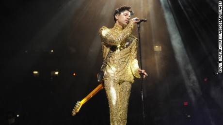 "NEW YORK, NY - FEBRUARY 07:  (Exclusive Coverage) Prince performs during his ""Welcome 2 America"" tour at Madison Square Garden on February 7, 2011 in New York City.  (Photo by Kevin Mazur/WireImage) *** Local Caption *** Prince"
