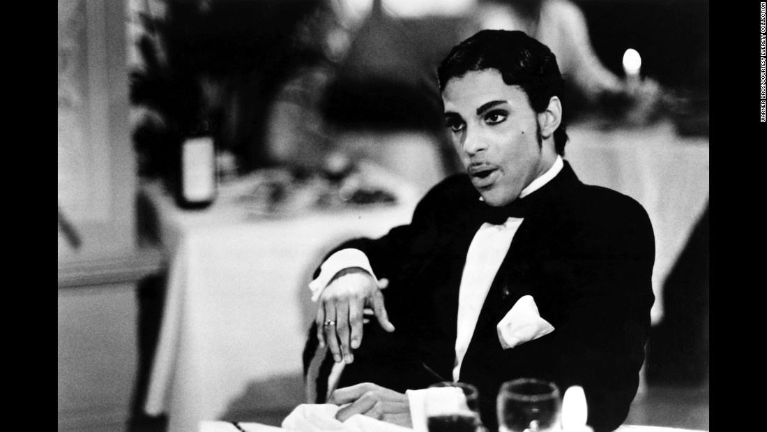 "Prince in a scene from the 1986 film ""Under the Cherry Moon."""