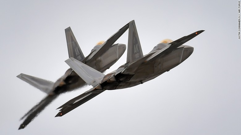 US intercepts Russian bombers, fighters