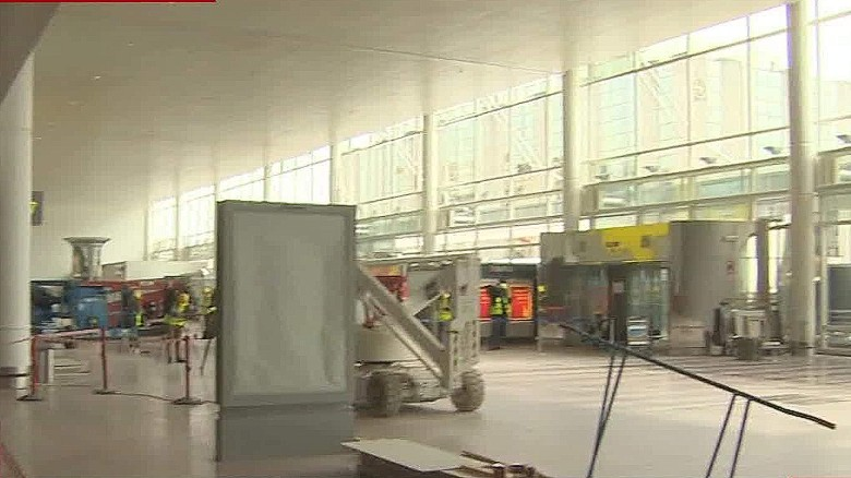 First look inside Zaventem airport in Brussels
