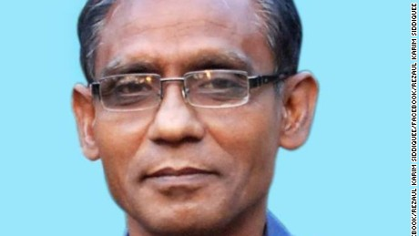 Photo: Professor Rezaul Karim Siddiquee 