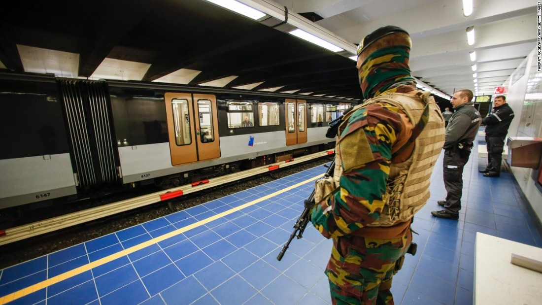 Brussels metro station reopens after terror attack