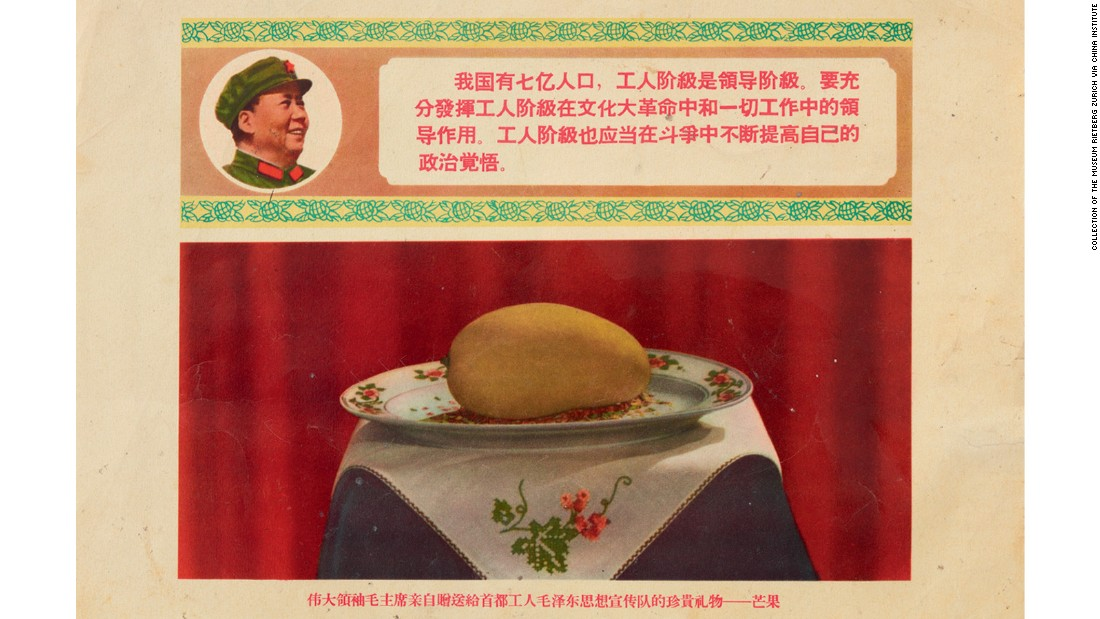 "To bring the students under control, Mao had founded ""Worker-Peasant Mao Zedong Thought Propaganda Groups"" and ordered the mangoes to be given to one of these groups at Tsinghua University."