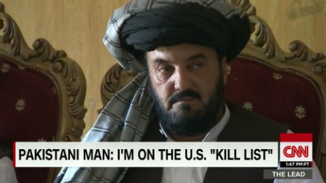 Pakistani man claims he is falsely on US kill List Lead Ward DNT_00010712