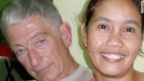 Robert Hall and Marites Flor are among Abu Sayyaf's hostages.