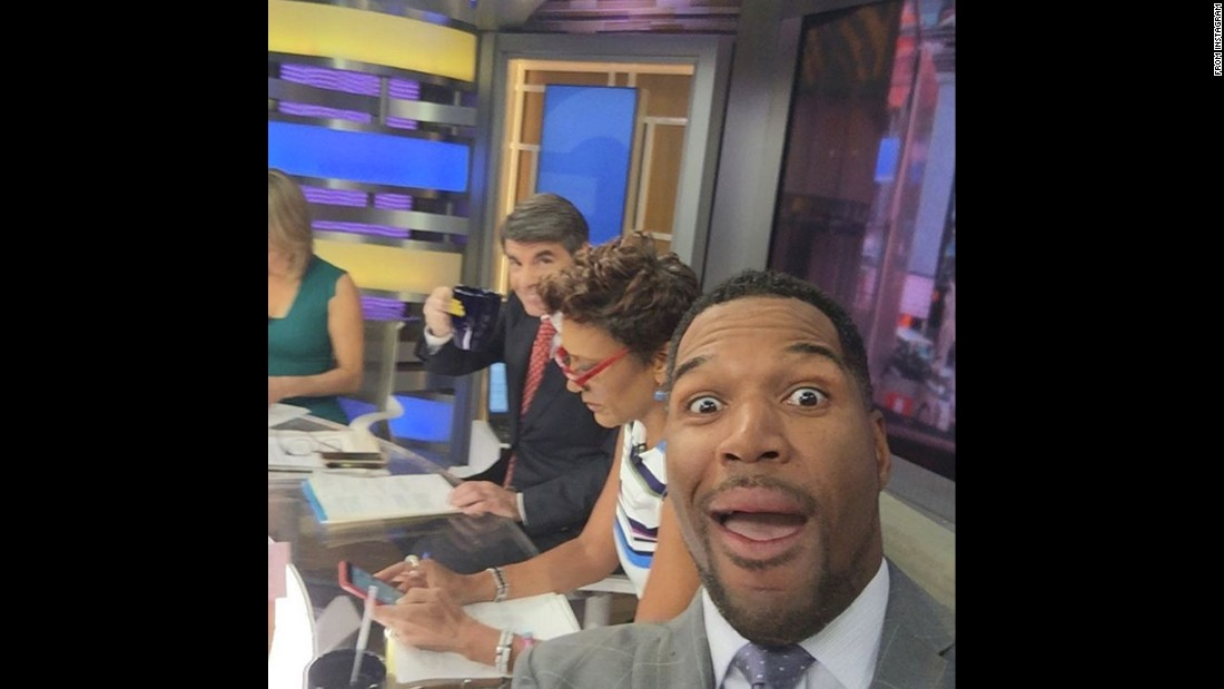 """As you can see I'm excited to be back to the family at GMA!"" <a href=""https://www.instagram.com/p/BEI48OrBIlx/"" target=""_blank"">said television host Michael Strahan,</a> who is moving to ""Good Morning America"" full time in May."