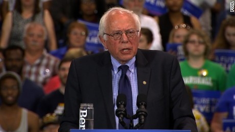 Sanders: We have bigger lead over Trump than Clinton