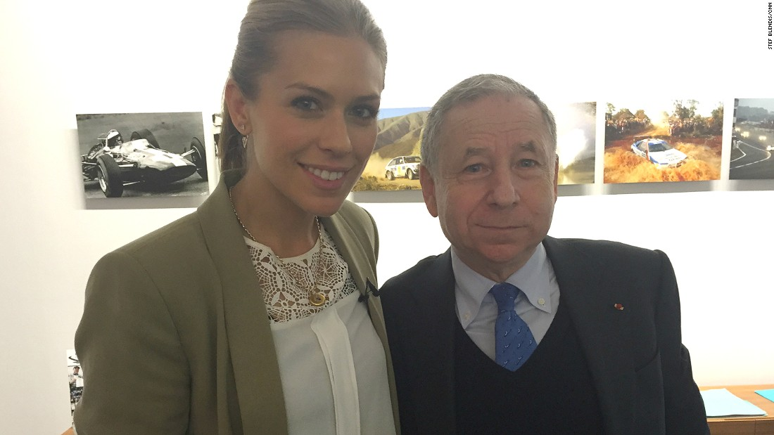 Todt invited CNN's Supercharged presenter Nicki Shields to his office in the Place de la Concorde in central Paris to discuss his future vision for electric technology.