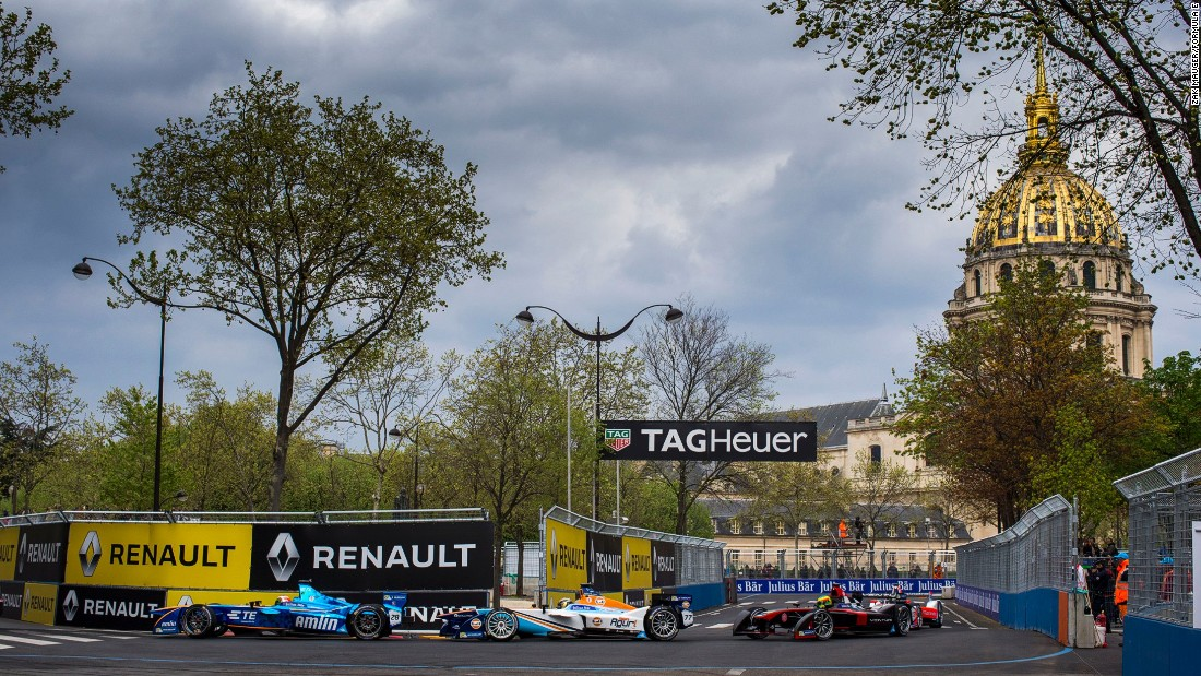 Spring time in Paris hummed with the more tranquil sound of Formula E cars with the first-ever Paris ePrix. Todt hopes the series will help persuade drivers to switch to electric-powered cars.