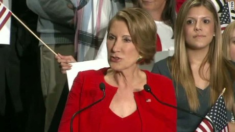 Carly Fiorina slams Donald Trump, Hillary Clinton