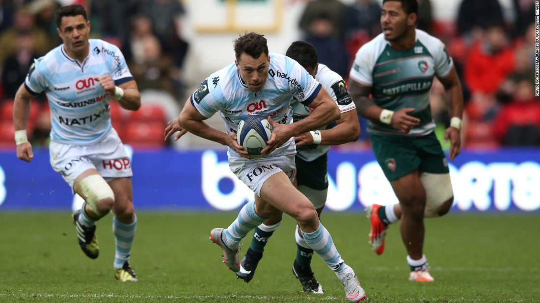 Racing beat Leicester on April 24 to set up a Champions Cup final against another English team, Saracens.