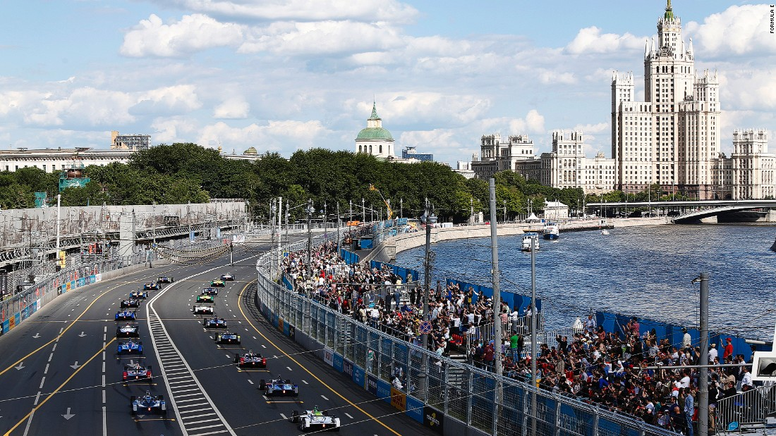 Formula E's strategy of racing in city centers gives the racing series the chance to show off the latest electric technology to fans.