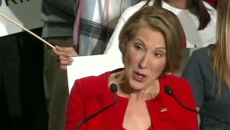Former HP CEO and Republican Presidential Candidate Carly Fiorina
