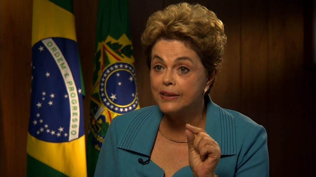 Brazilian President Dilma Rousseff: 'I will be very sad' if I miss the Olympics