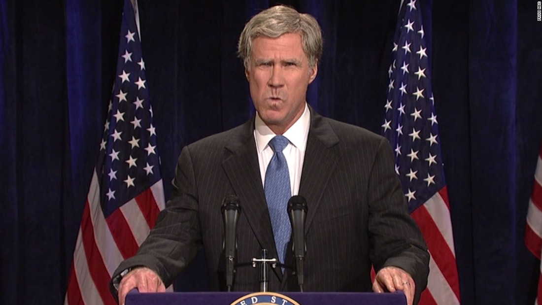"Will Ferrell is famous for playing former President George W. Bush on ""SNL"" and now he<a href=""http://variety.com/2016/film/news/will-ferrell-to-play-former-president-ronald-reagan-in-new-movie-exclusive-1201762057/"" target=""_blank""> is reportedly on board to play President Ronald Reagan in a planned motion picture.</a> Check out a few of the other actors who've portrayed commanders in chief:"