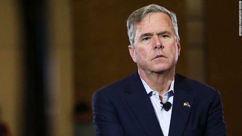 Jeb Bush: 'I will not vote for Donald Trump'