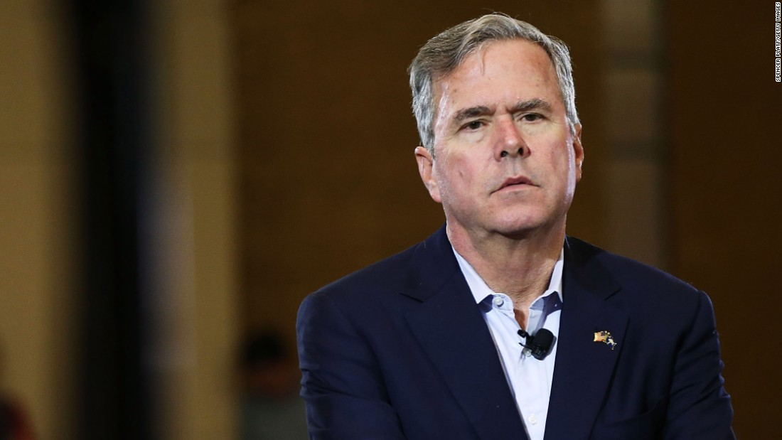 Jeb Bush says Donald Trump's supporters aren't a bunch of idiots
