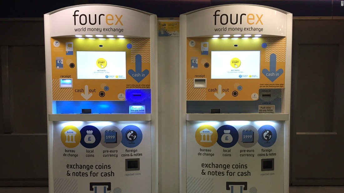 Fourex: ATM converts leftover foreign currency | CNN Travel