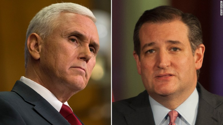 Indiana Gov. Mike Pence: I will be voting for Ted Cruz