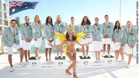 Australia's athletes will wear this outfit for the opening ceremony in Rio.
