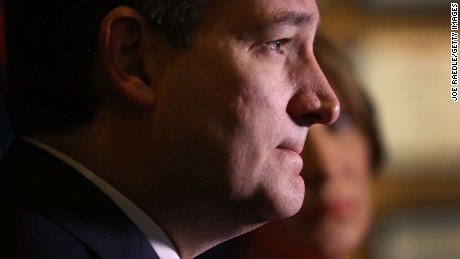 Republican presidential candidate Sen. Ted Cruz (R-TX) speaks with the media before participating in a taping of Fox News Channel's The Sean Hannity Show at the Indiana War Memorial on April 29, 2016 in Indianapolis, Indiana.