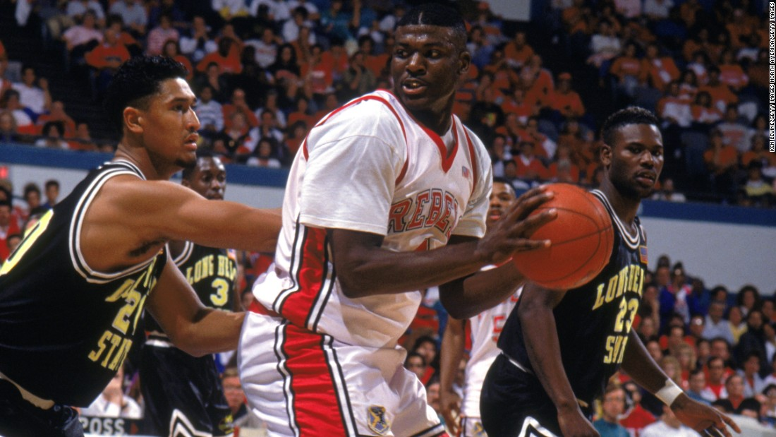 <strong>UNLV Runnin' Rebels</strong> <strong>March Madness 1991: </strong>Larry Johnson would go on to have a distinguished career with the Charlotte Hornets and New York Knicks in the NBA. But winning back-to-back titles with UNLV would have left a mark as one of the greatest college teams to ever grace the game.