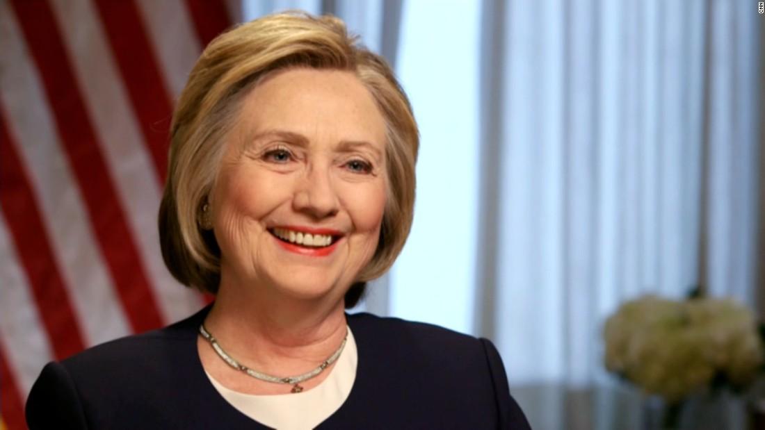 Clinton blames Trump for violence at his events
