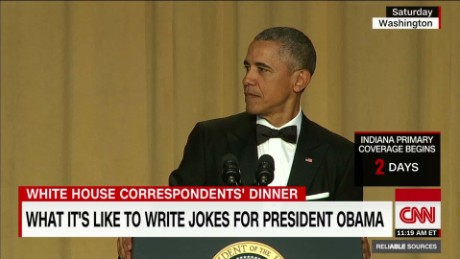 How seriously Obama takes his media jokes _00013130