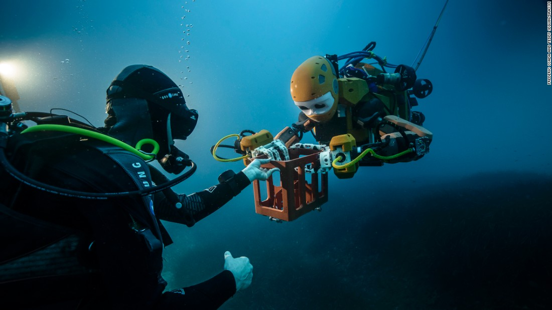 It's a breakthrough, its creator says, and marks the beginning of an age where the robot can undertake tasks that test the limits of a human diver's endurance.
